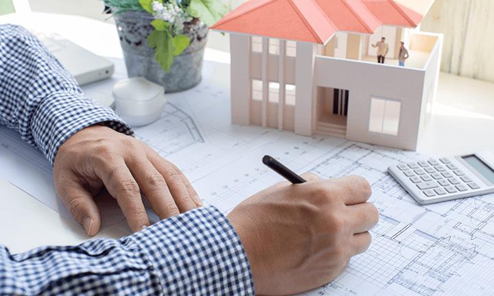 宇都宮市の注文住宅づくり 間取り図の作成