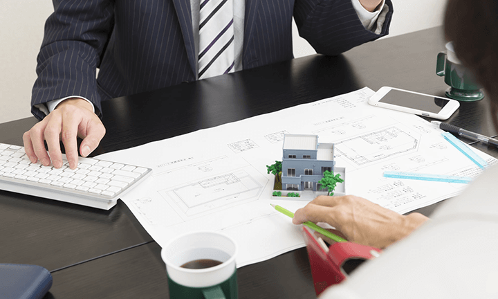 宇都宮市の注文住宅づくり 間取り図の微調整