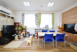 宇都宮市の工務店エスホームの打ち合わせスペース