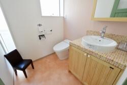 宇都宮市の工務店エスホームの女性用トイレ