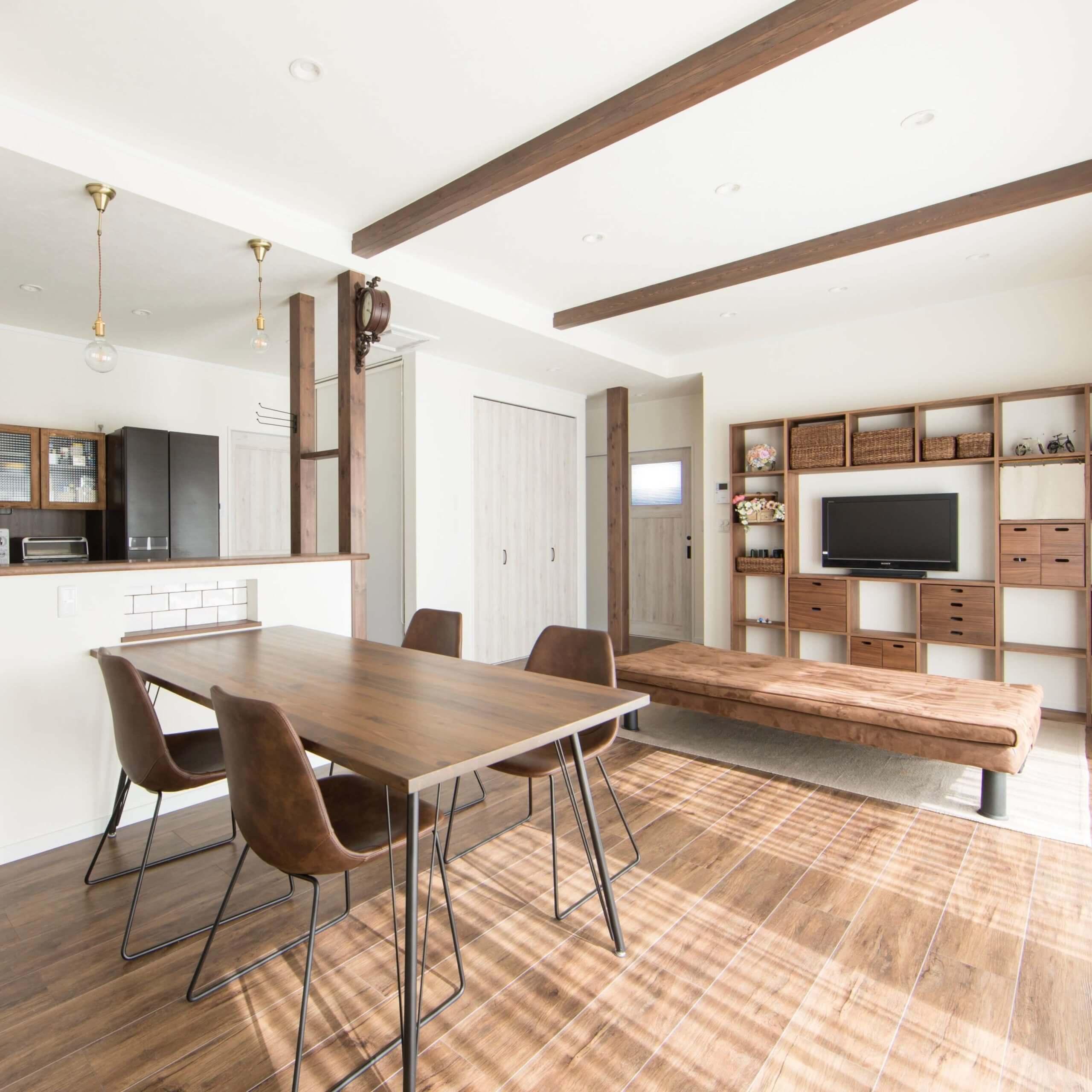 鹿沼市の注文住宅事例 家具