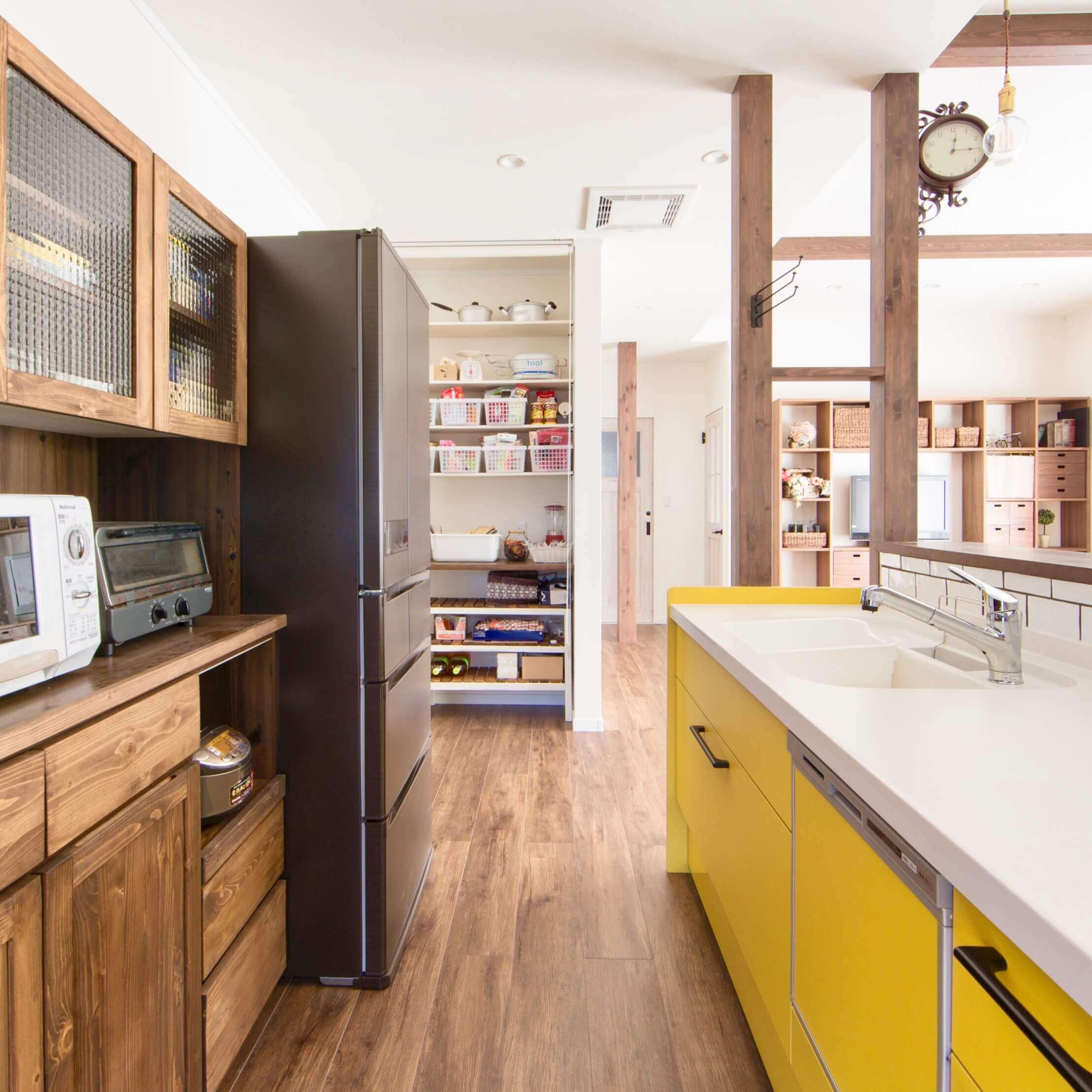 鹿沼市の注文住宅事例 キッチン