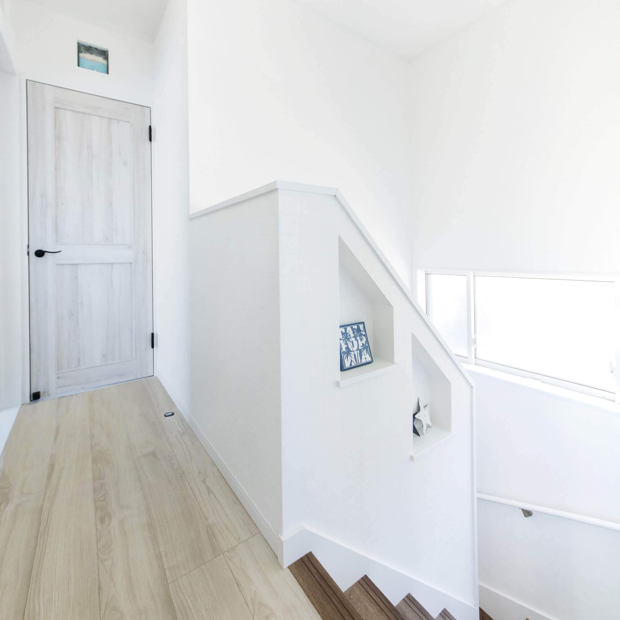 鹿沼市の注文住宅事例 階段