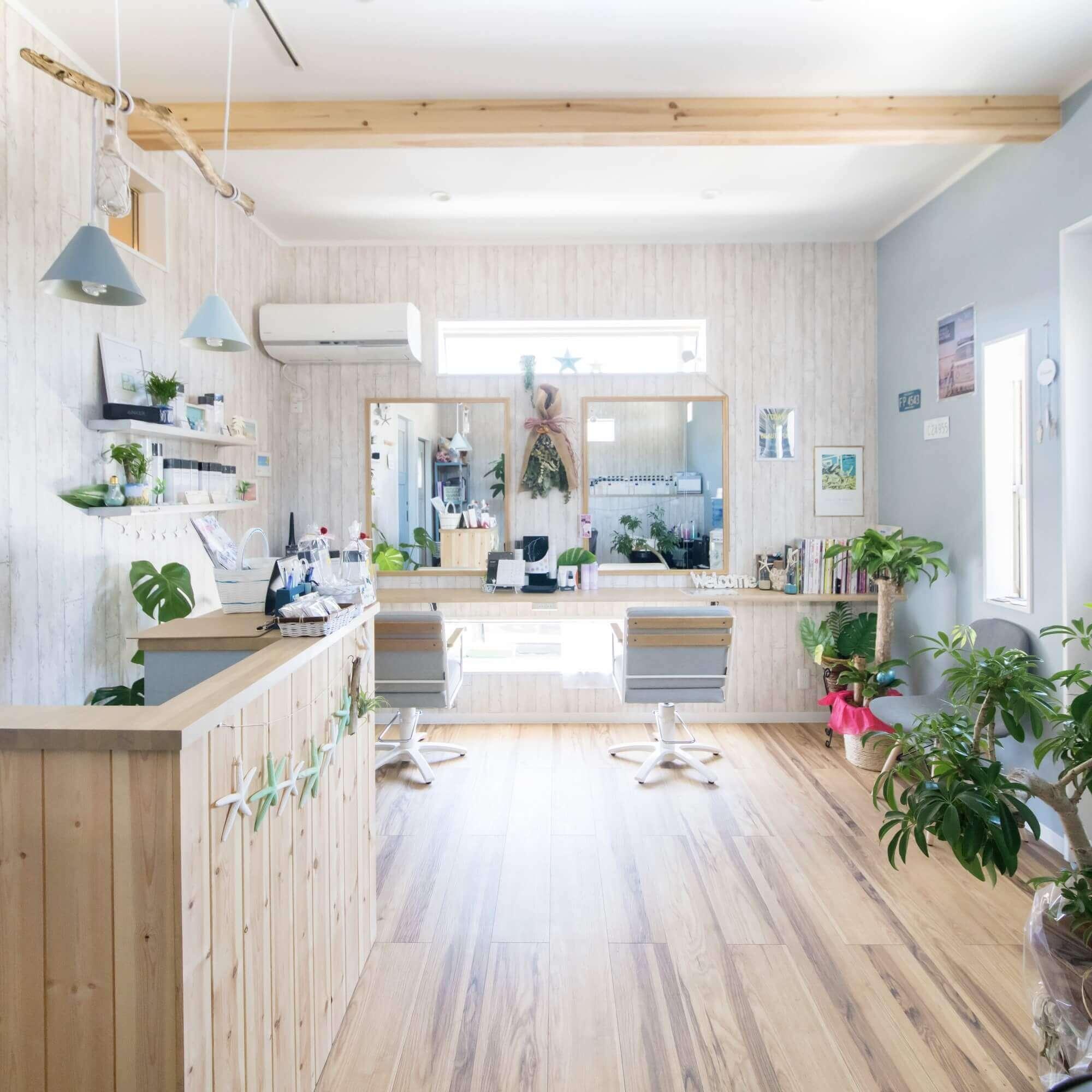 鹿沼市の注文住宅事例 美容室