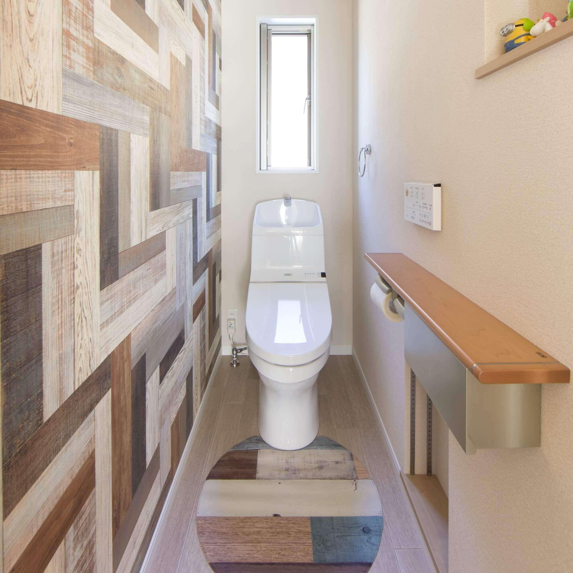 鹿沼市の注文住宅事例 トイレ