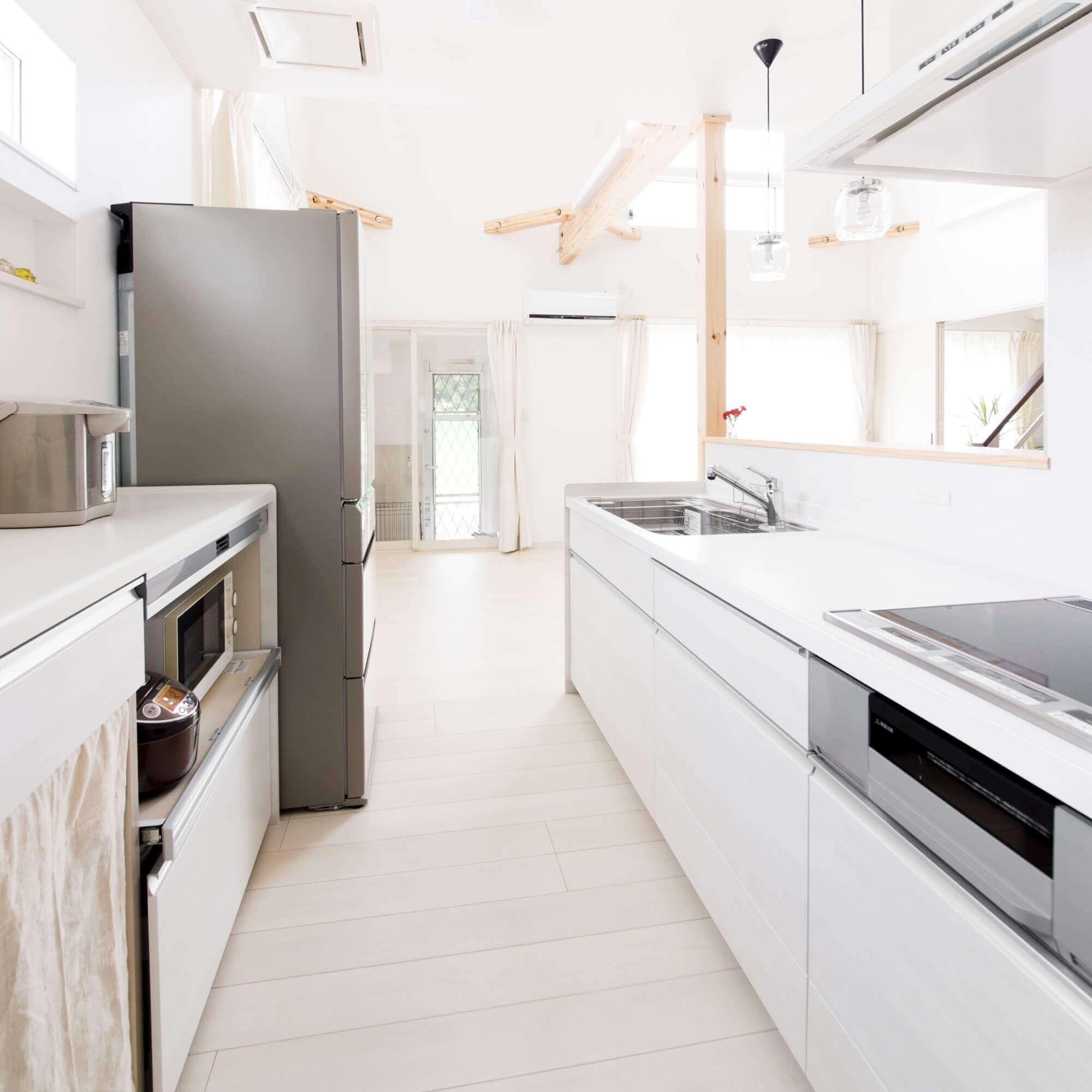日光市の注文住宅事例 キッチン