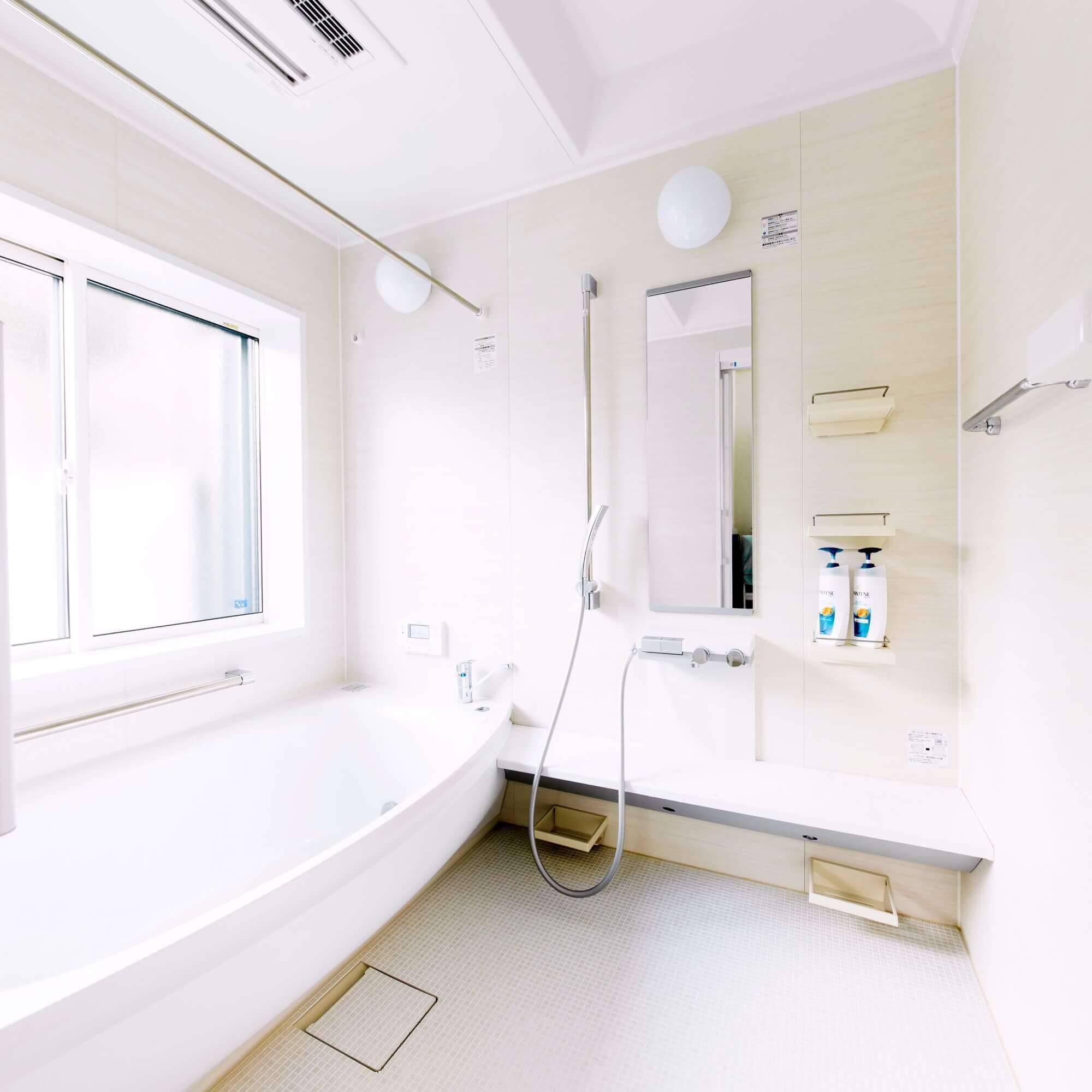 日光市の注文住宅事例 浴室