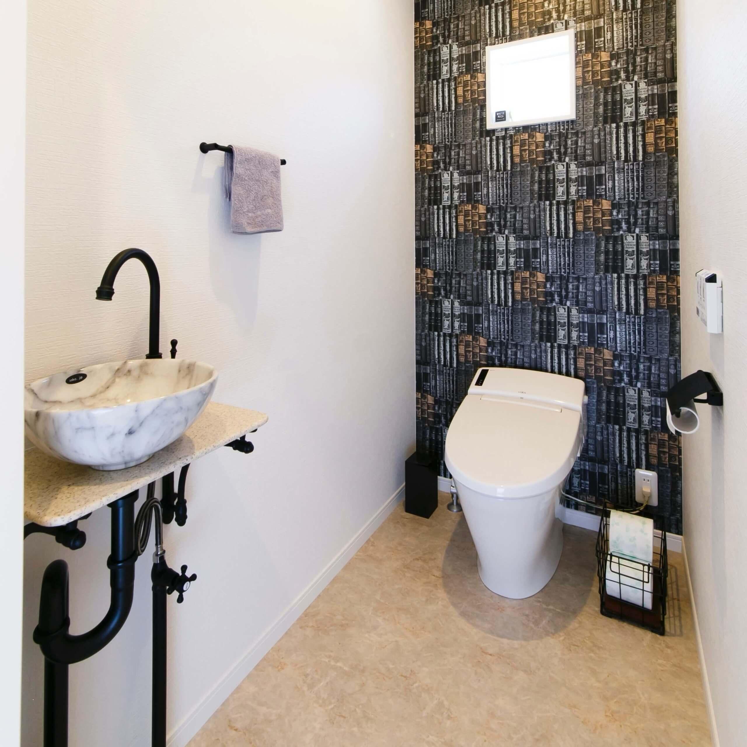 宇都宮市の注文住宅事例 トイレ