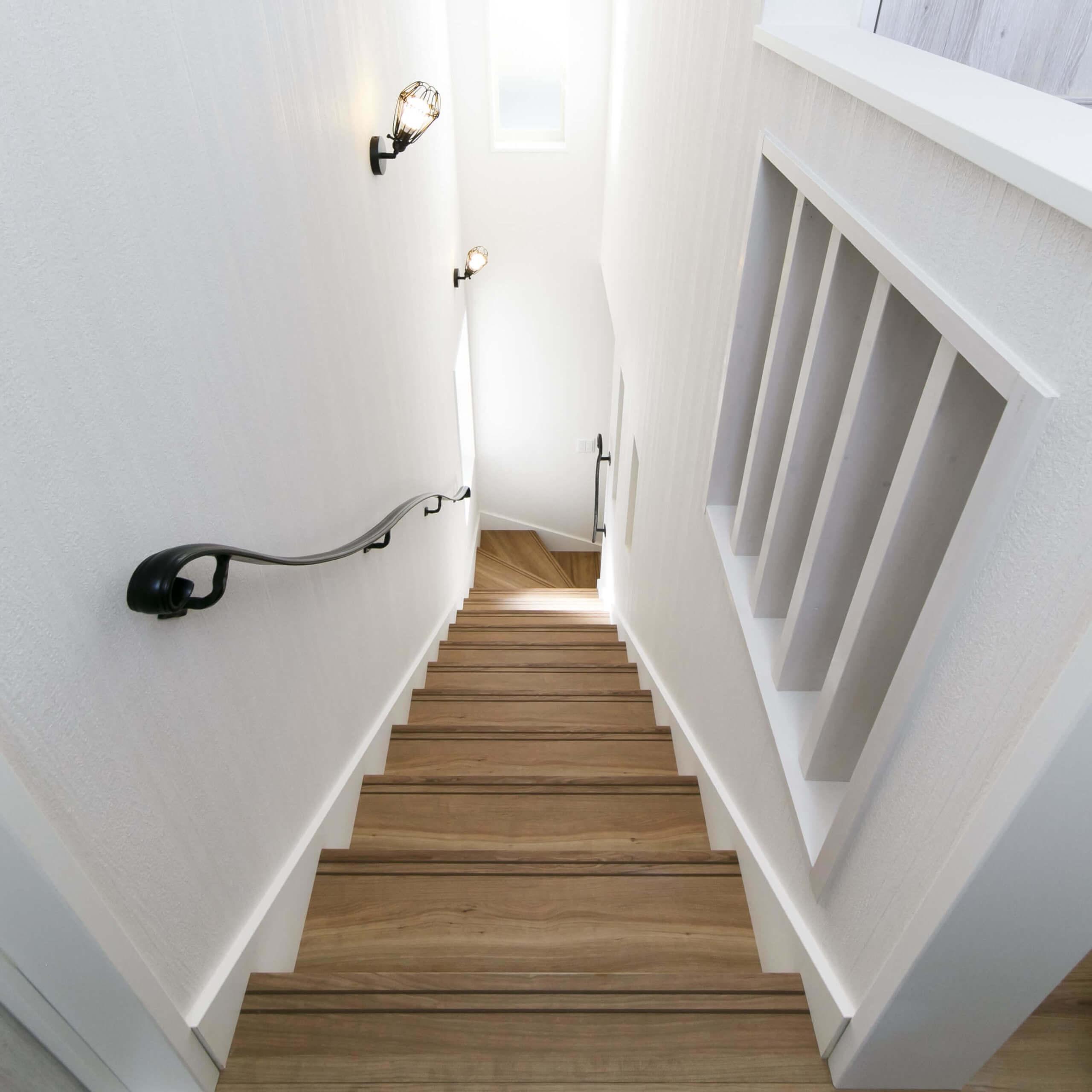 宇都宮市の注文住宅事例 階段