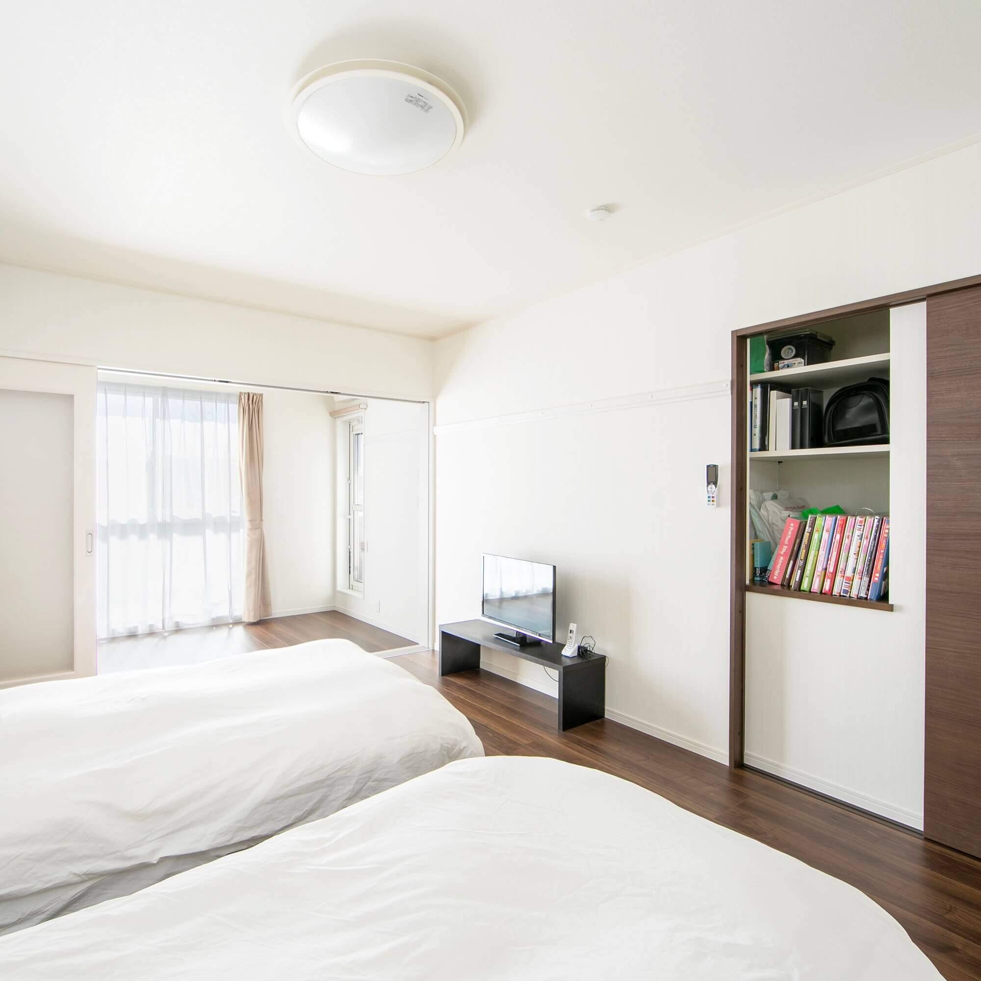 宇都宮市の注文住宅事例 寝室