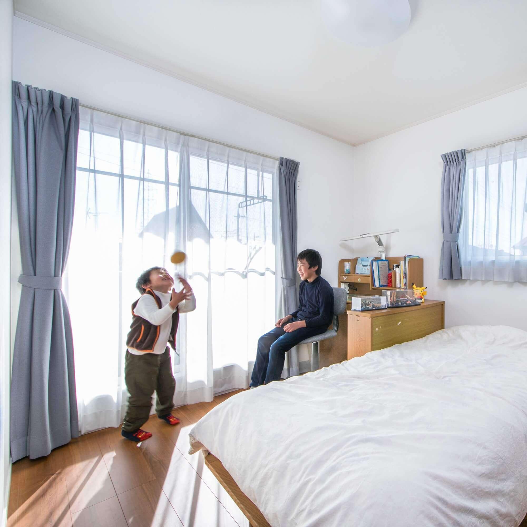 宇都宮市の注文住宅事例 子供部屋