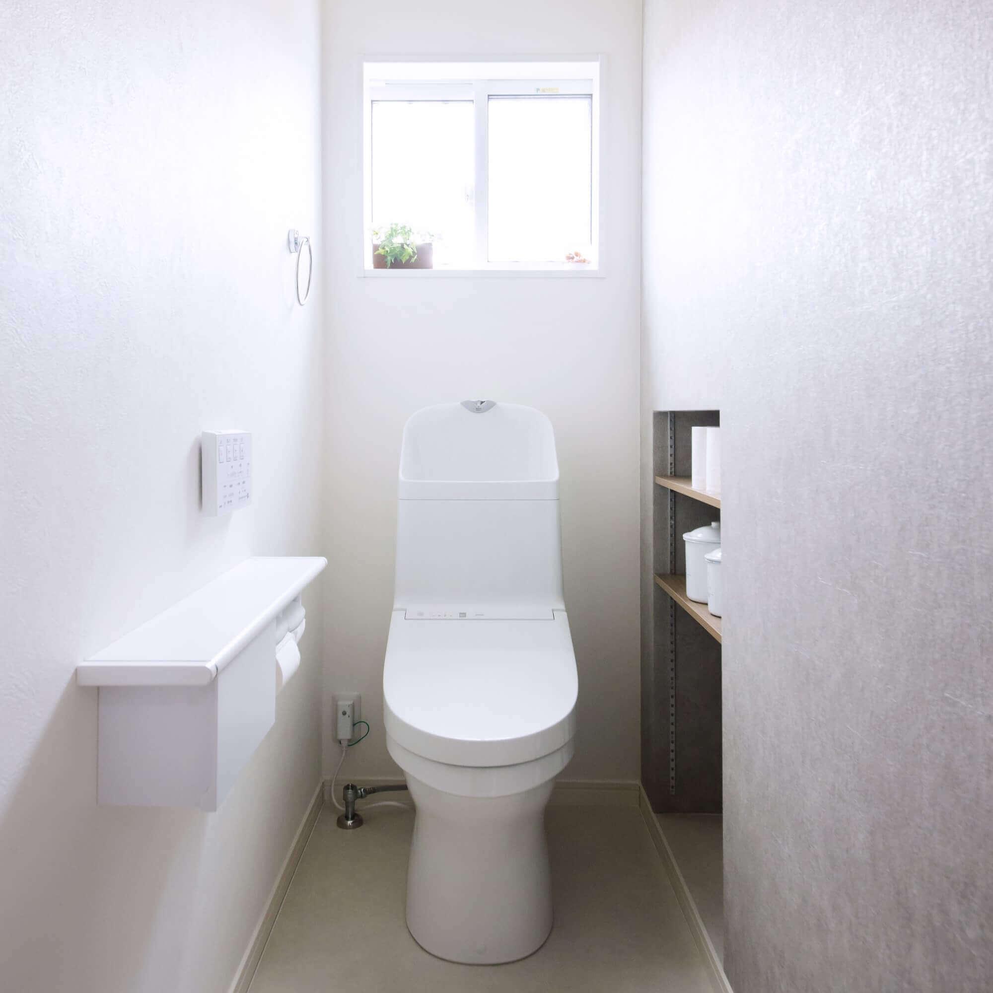 矢板市の注文住宅事例 トイレ