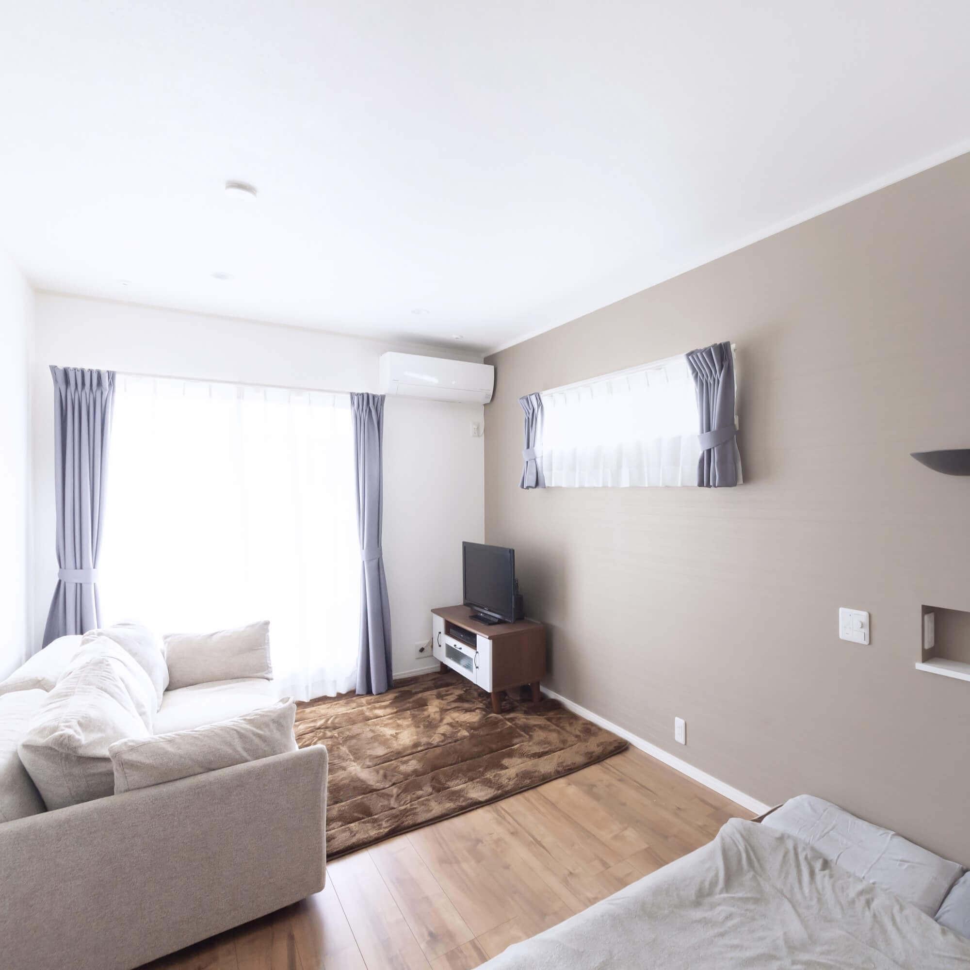 矢板市の注文住宅事例 寝室
